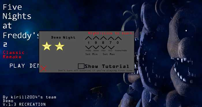 Five Nights at Freddy's 2: Classic Remake Free Download