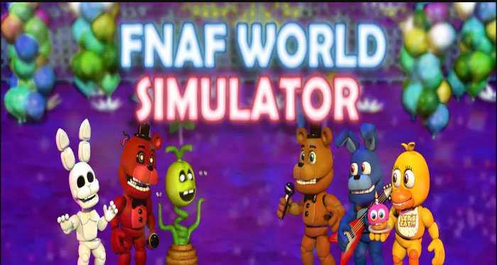 FNaF World Simulator APK Free Download