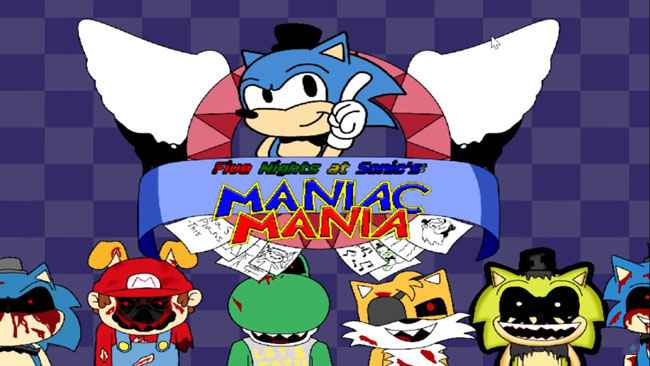 Five Nights at Sonic's: Maniac Mania MINUS (DEMO) Free Download