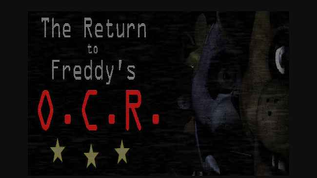 The Return To Freddy's: O.C.R. Free Download