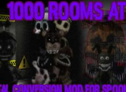 1000 Rooms at Spooky's - A SHoJ FNaF mod! download for PC