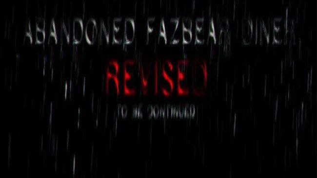 Abandoned Fazbear Diner Free Download
