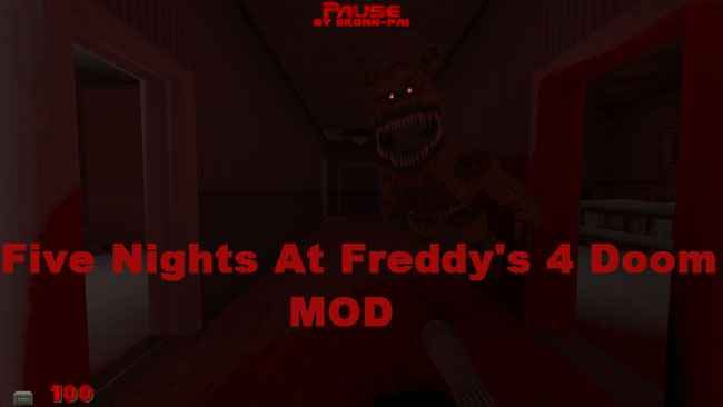 Five Nights at Freddy's 4 Doom Mod Download Free