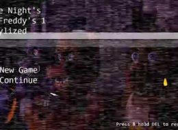 Five Nights at Stylized Freddy's download at fnaf gamejolt