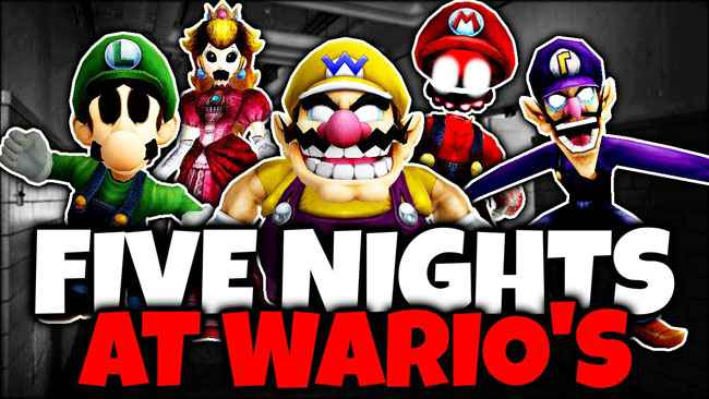 Five Nights at Wario's: Return to the Factory Free Download