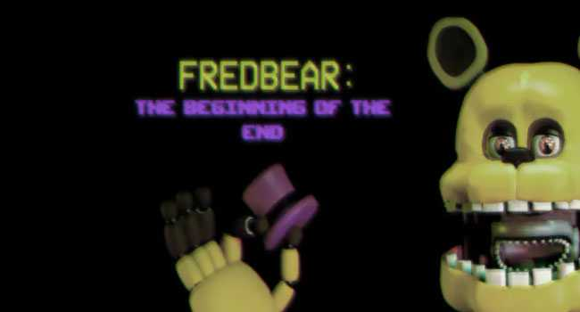 FREDBEAR: The Beginning of The End download for pc