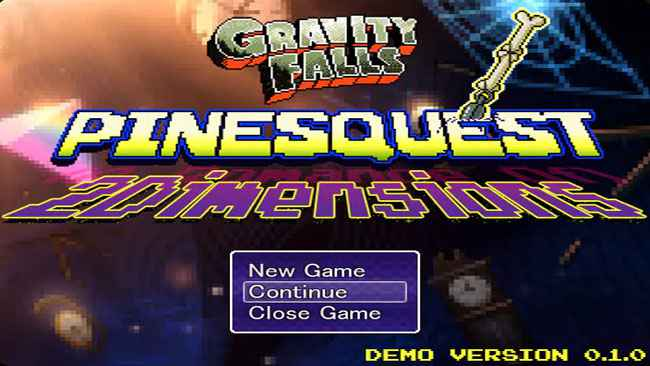 Gravity Falls: PinesQuest 2D Free Download