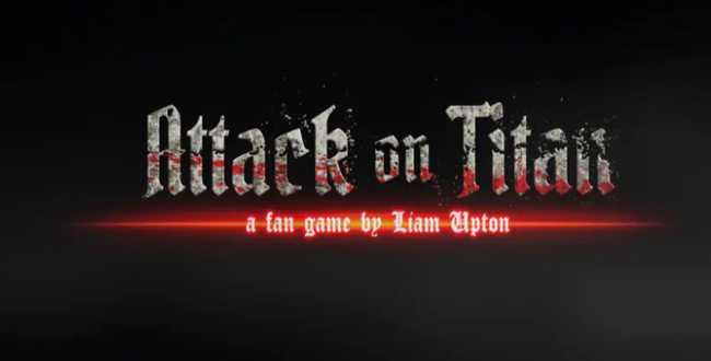 Liam's Attack on Titan fan game Download Free