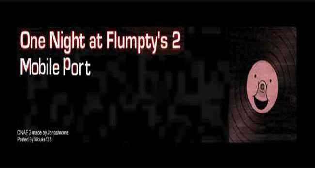 One Night At Flumpty's 2 Mobile download free