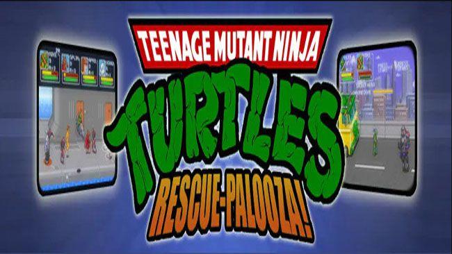 Teenage Mutant Ninja Turtles: Rescue-Palooza! Free Download