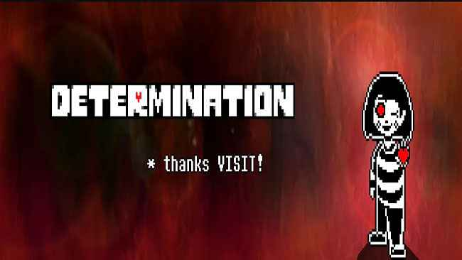 Undertale: Determination Free Download