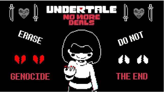 Undertale: No More Deals Free Download