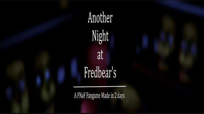Another Night at Fredbear's: A FNAF Fan Game Made in Two Days Free Download