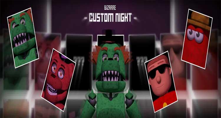 LU | Bizarre Custom Night free download game for pc