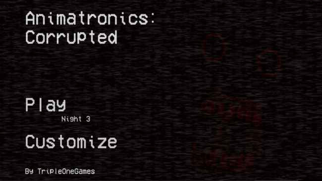 Animatronics: Corrupted APK For Android Free Download