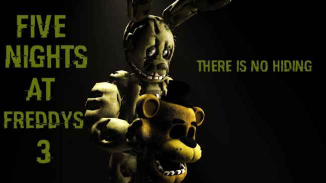 Five Nights at Freddy's 3 APK For Android Free Download APK