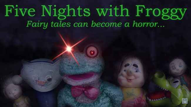 Five Nights with Froggy APK For Android Free Download