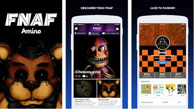 FNAF Amino en Español APK For Android Free Download
